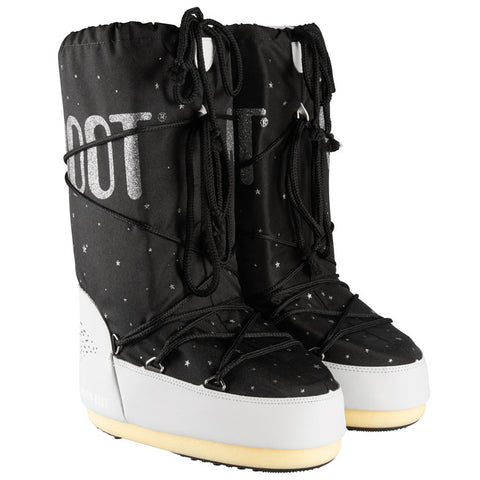 Moon Boot Space Black Beige