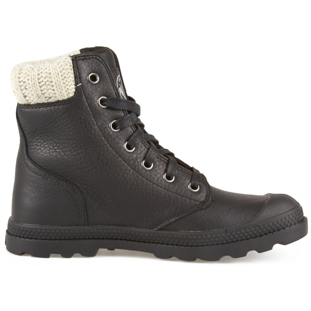 Palladium Pampa Hi Knit Black