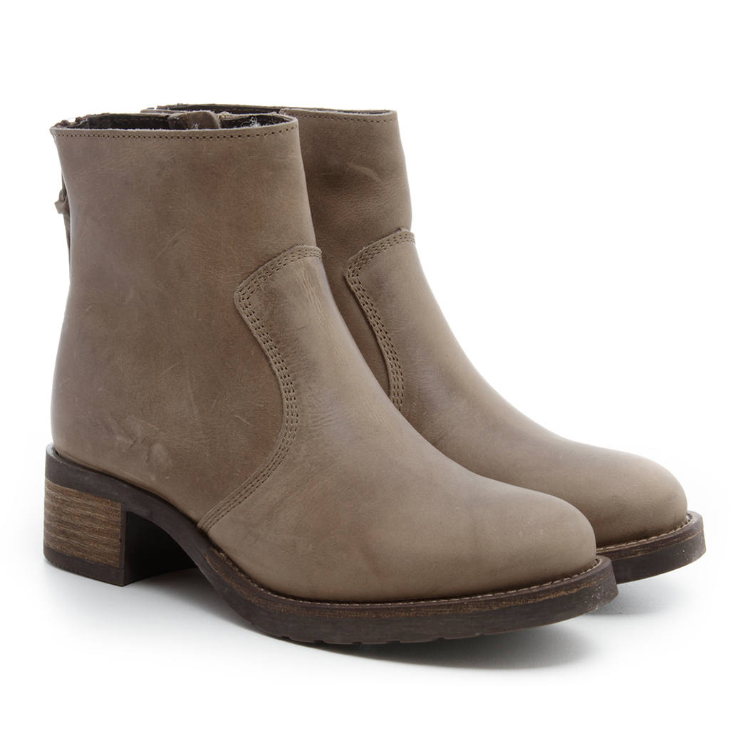 Pavement Kelly Wool støvle khaki-Pavement-Hoofers - We love shoes