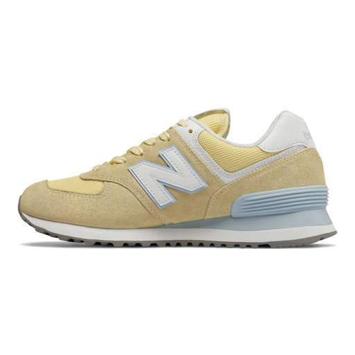 New Balance WL574ESG sneakers gul-New Balance-Hoofers - We love shoes
