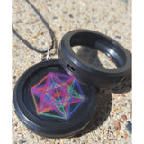 Pendant Hedron EMF EMR Body Shield Sticker radiation reducer protection shungite device
