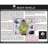 Hedron EMF EMR Body Shield Sticker radiation reducer protection shungite device