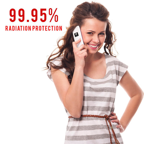 Hedron EMF EMR Shield radiation Sticker heat reducer protection devices phone