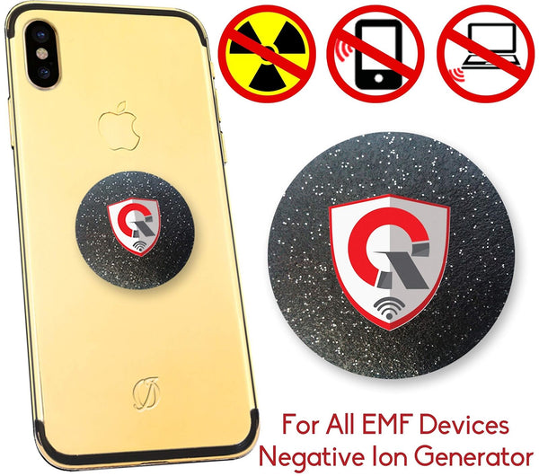 Quanthor 360 EMF Protection Tesla Technology: EMR Absorption radiation phone-Hedron Life Source-Berkey Water Purifiers UK
