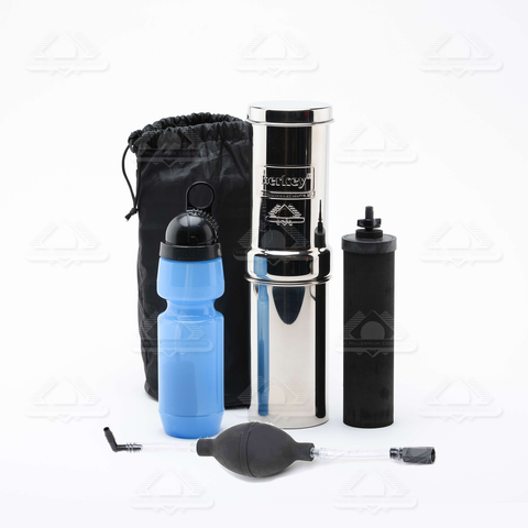 Go Berkey Kit with Black Berkey Primer-Water Filters-Berkey-Yes-Berkey Water Purifiers UK