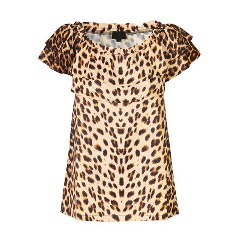 CS#15 18589-985 Top Leopardprint