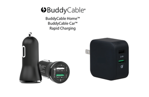 BuddyCable® USB Home & Car Chargers