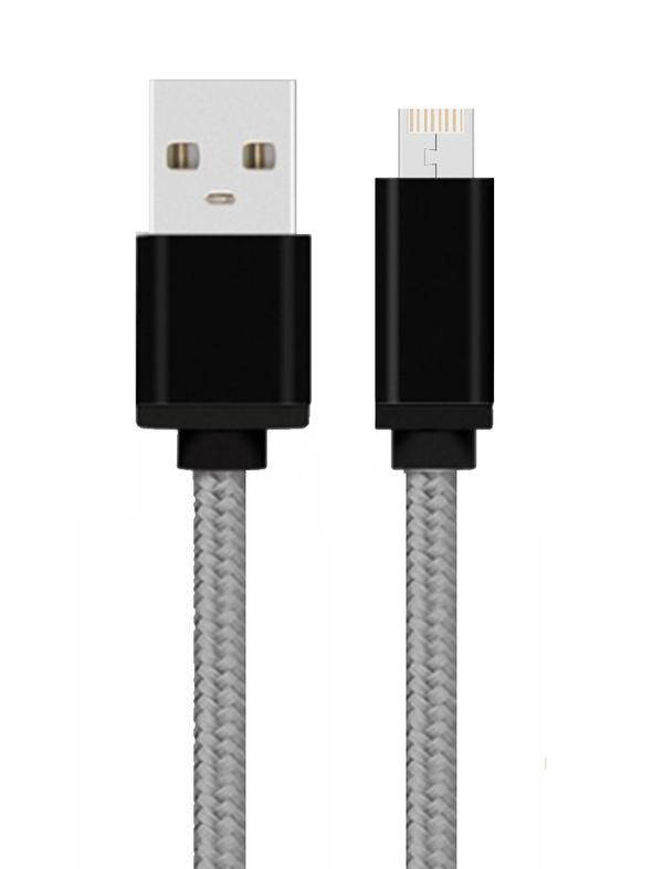 BuddyCable® Braided: Tungsten Gray™