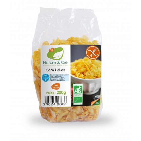 Corn Flakes nature- sans sel- 200g