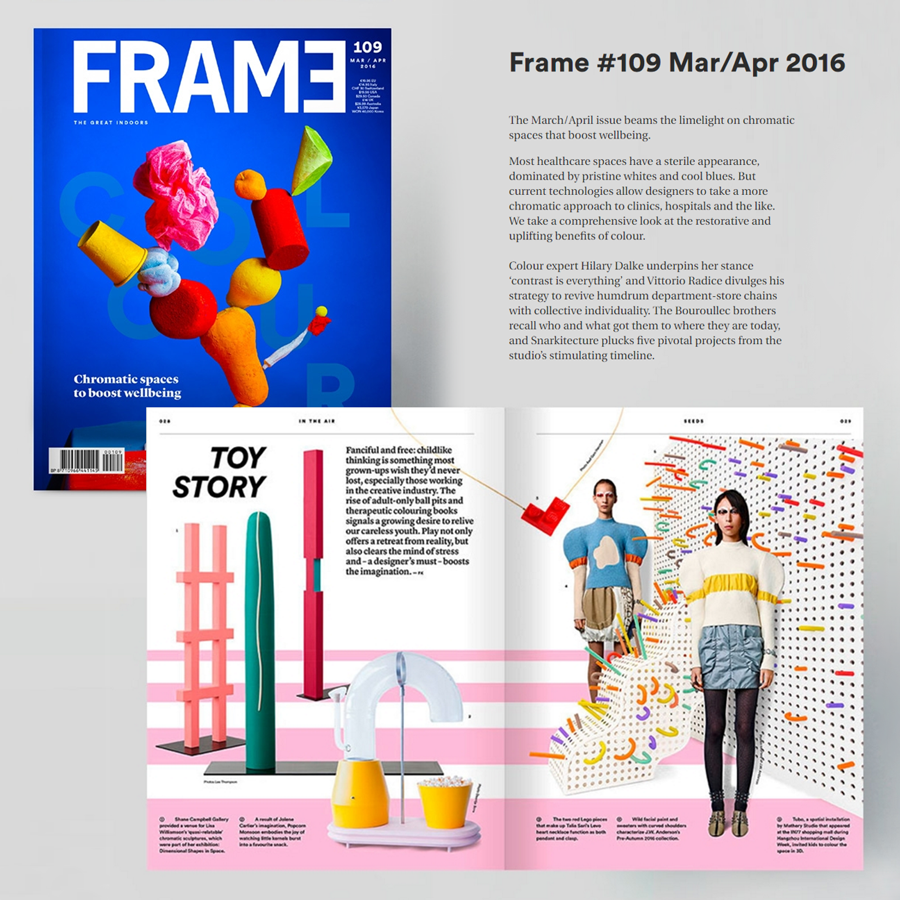 LEVO featured on FRAME magazine
