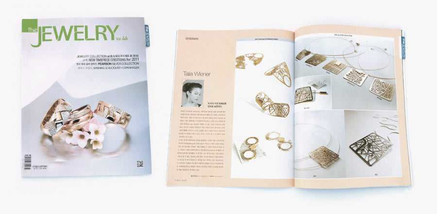 "You Are Here on ""The Jewelry"" magazine"