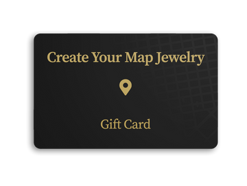 Map Jewelry Gift Card