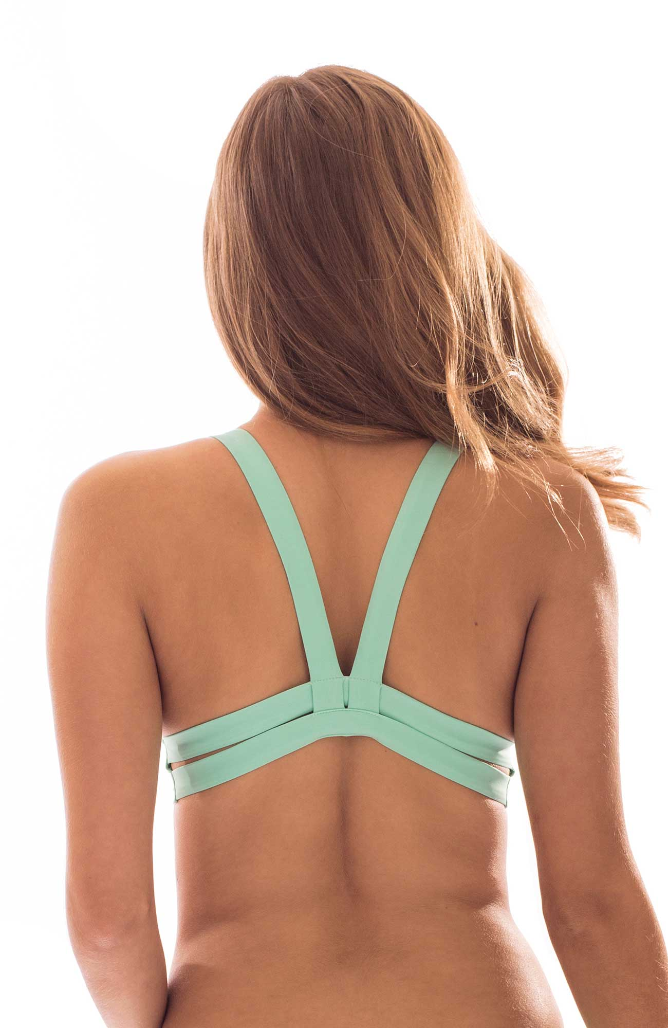 MINT GREEN SQUEEZE TOP