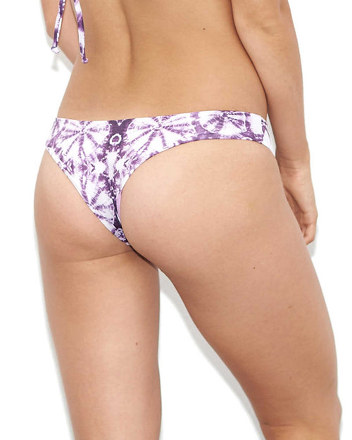 MULBERRY HIGH KNOTTY DYES BIKINI BOTTOM