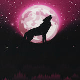Wolf Moon 2.0 - Pink French Terry