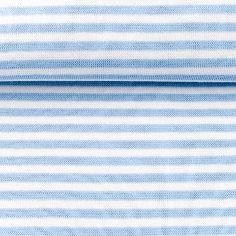 Ribbing/Cuff Striped - Blue
