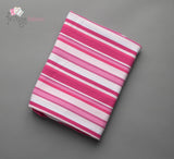 Shaded Stripes Large - Pink Jersey