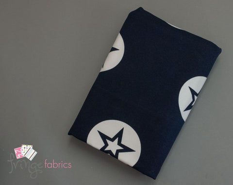 Stars - Navy French Terry