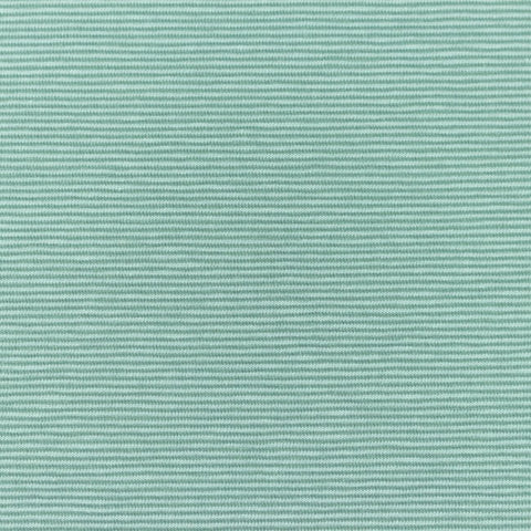 Micro Stripes - Mint Jersey