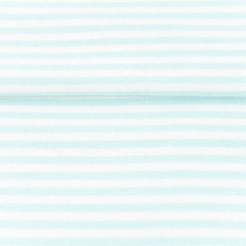 Ribbing/Cuff Striped - Mint