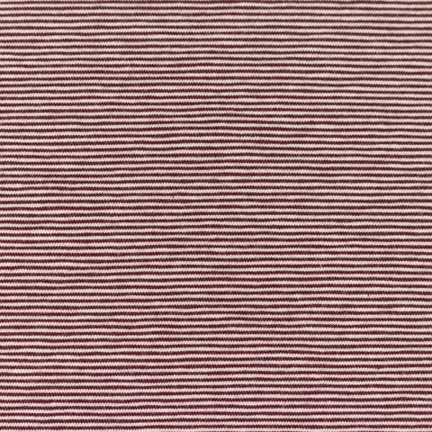 Micro Stripes - Bordeaux Jersey