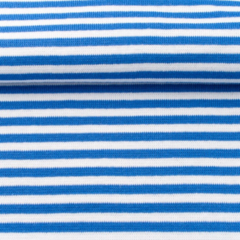 Ribbing/Cuff Striped - Cobalt