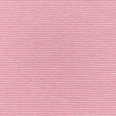 Micro Stripes - Pink Jersey