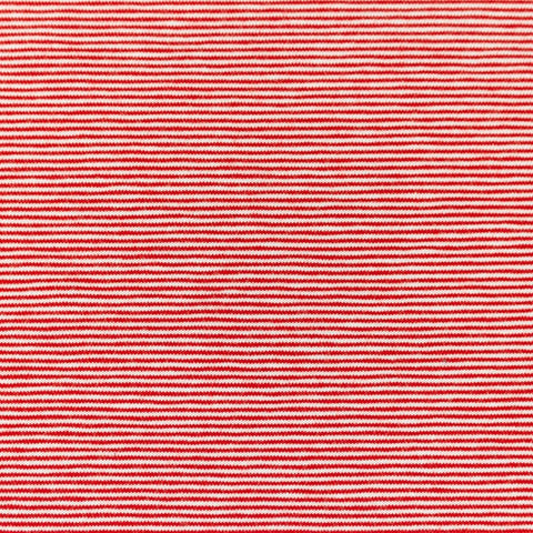 Micro Stripes - Red Jersey