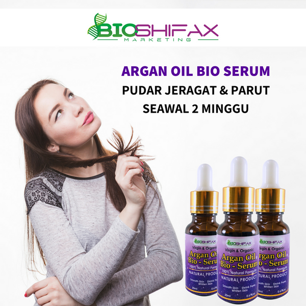 Skin Care Argan Oil Bio-Serum – Bioshifax