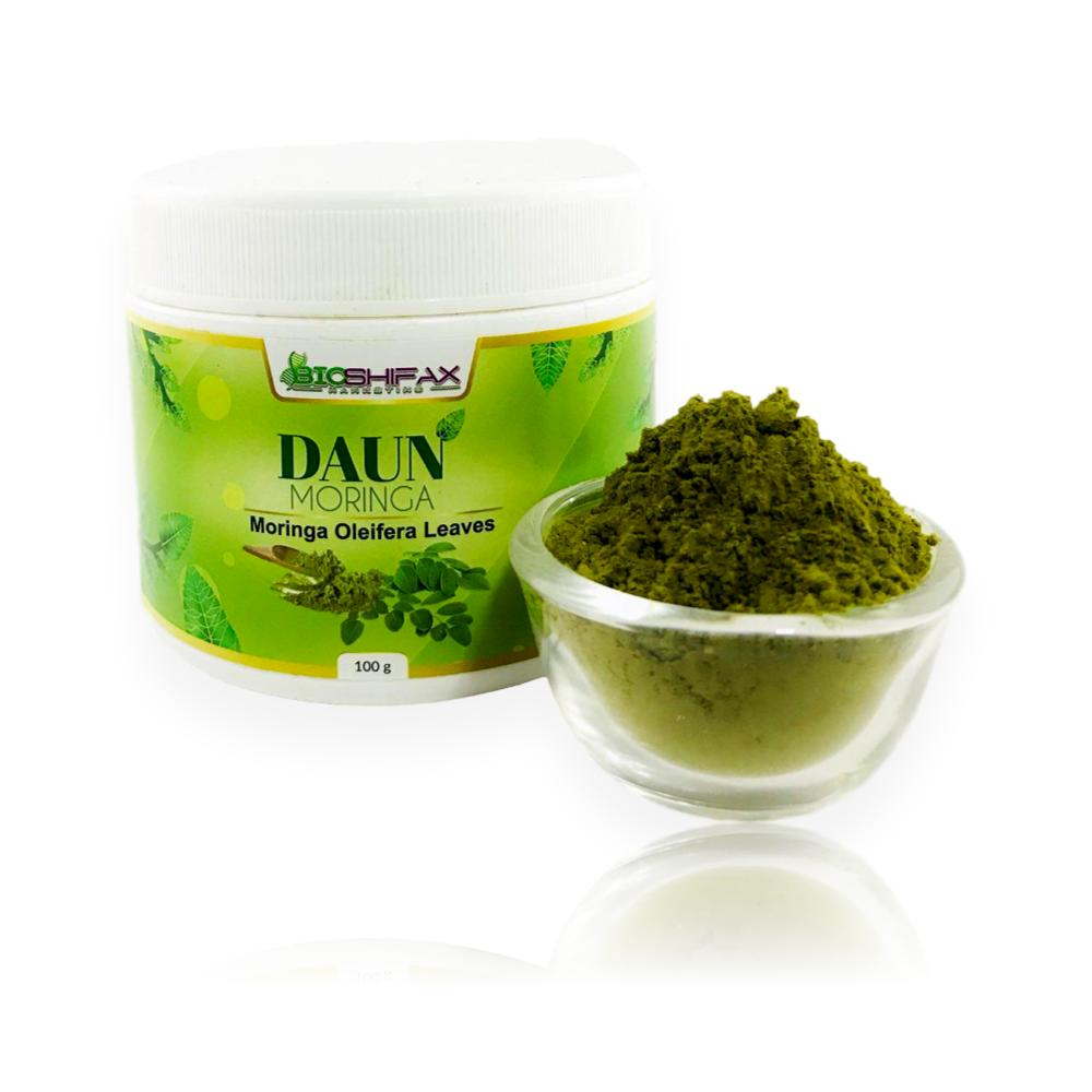 100gm Daun Moringa Serbuk / Moringa Leaves Powder - Bioshifax