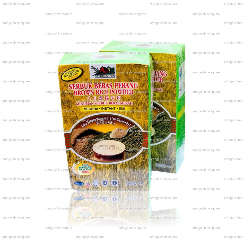 Serbuk Beras Perang / Brown Rice Poweder - Nature's Own