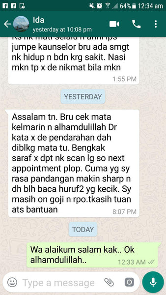 Testimoni Pure Red Palm Fruit Oil - Sunno