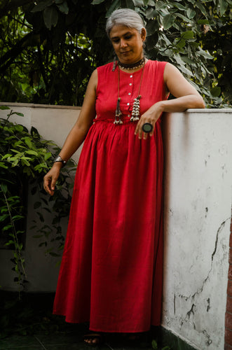 Aamani Dress - Red