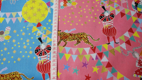 'Circus of Wonders' Limited Edition Textile・Sold by Metre