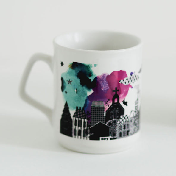 'Night Town' Limited Edition Mug