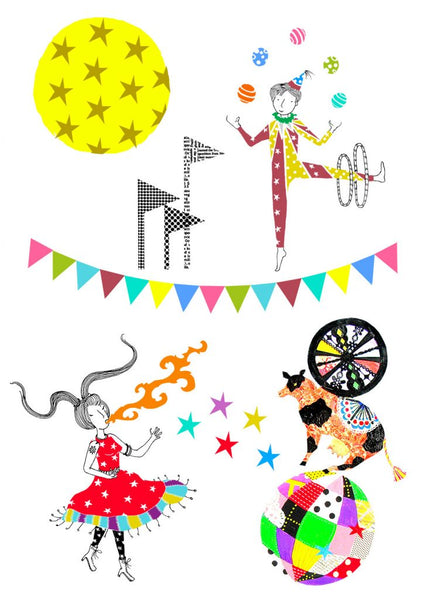 'Circus of Wonders' Wall Stickers