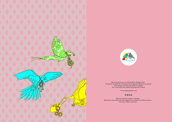 'Flying Journey' Limited Edition A5 Notebook