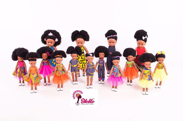 Sibahle Collection - Black Baby Dolls