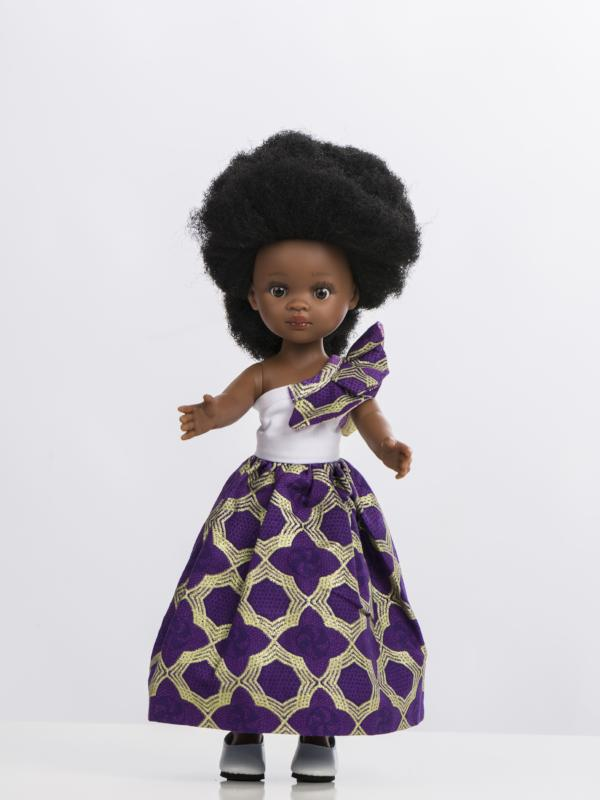 Dress for Bontle Doll (Dress Only) - Side Bow Dress - Bounce Essential Hair