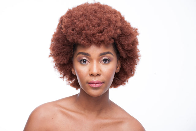 Colour 340 Synthetic Afro Wig 14 inch