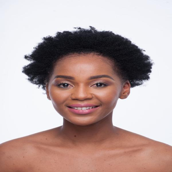 Synthetic Afro Puff