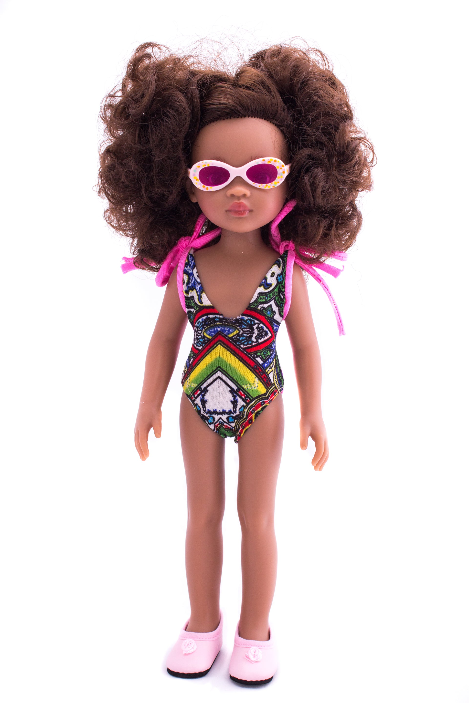 Rainbow Nation SwimSuit Only - Bounce Essential Hair