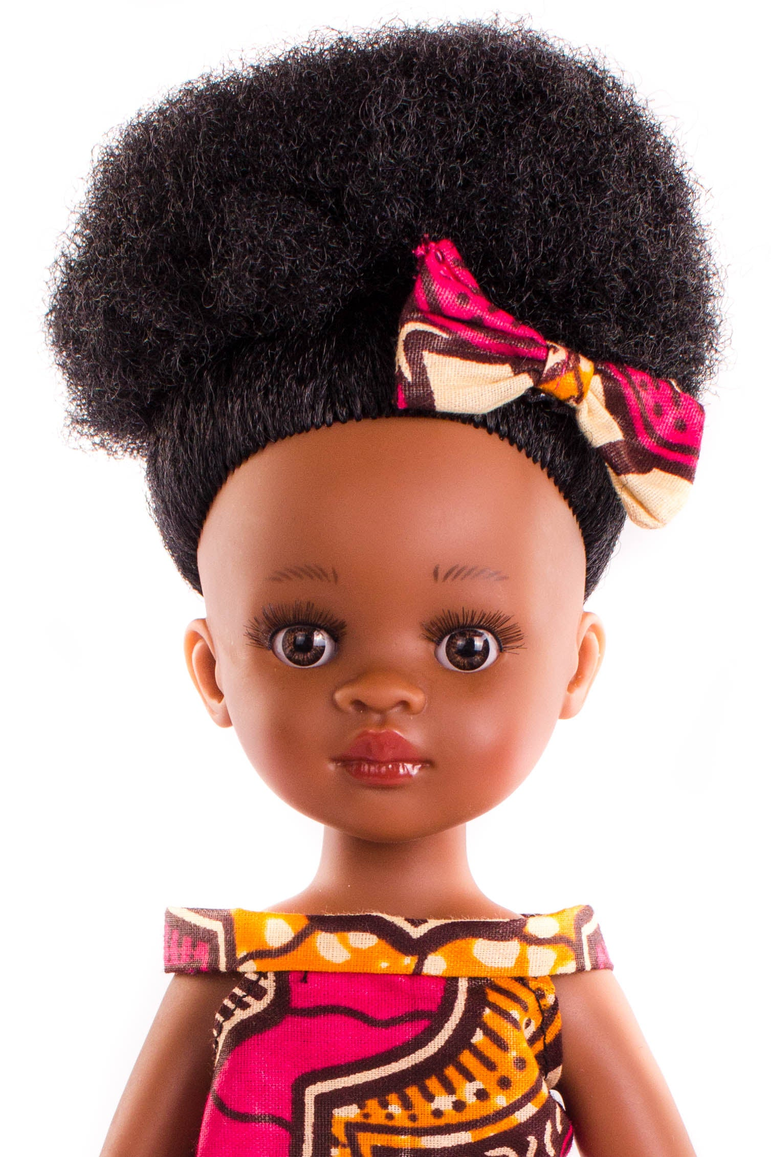 Bontle Princess Doll (28cms) - Dressed in Pink - Bounce Essential Hair