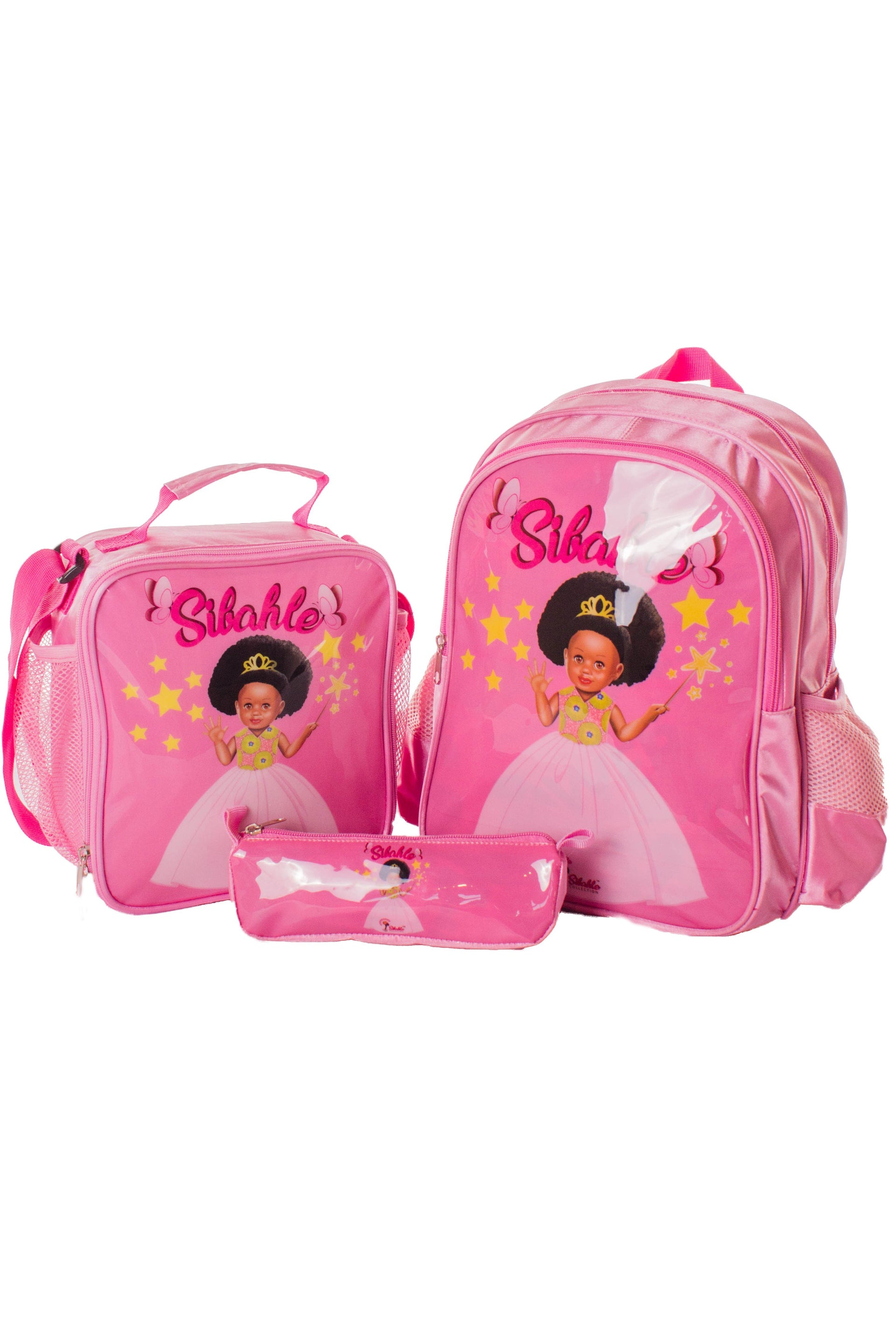 3 Piece Nobuhle School Bag Set - Bounce Essential Hair
