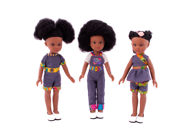 Bontle long 2 pcs Dungarees - Bounce Essential Hair
