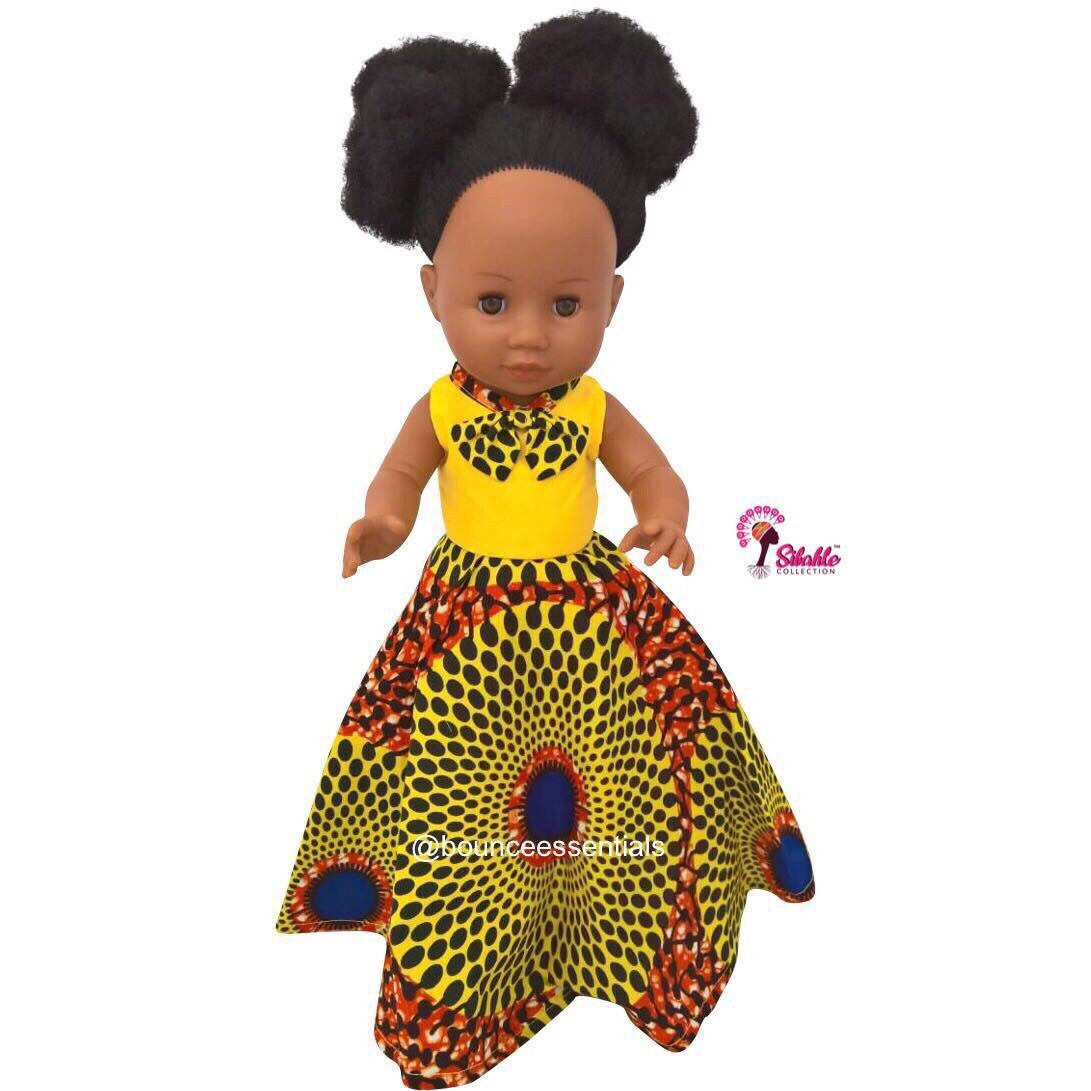Dress for Nobuhle Doll (Dress Only) - Long Dress - Bounce Essential Hair