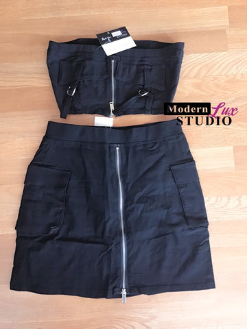 Midnight Skirt Set