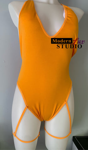 Sweet Orange Swimsuit