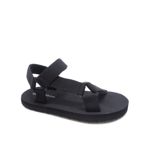 """Basic""Black Sandal"
