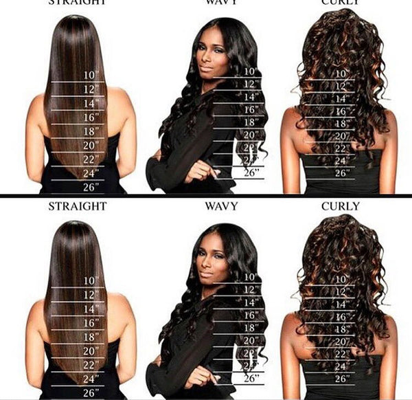 3 Bundle Deal(18inch-24inch)